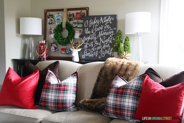 Christmas Home Tour 2014 Living Room