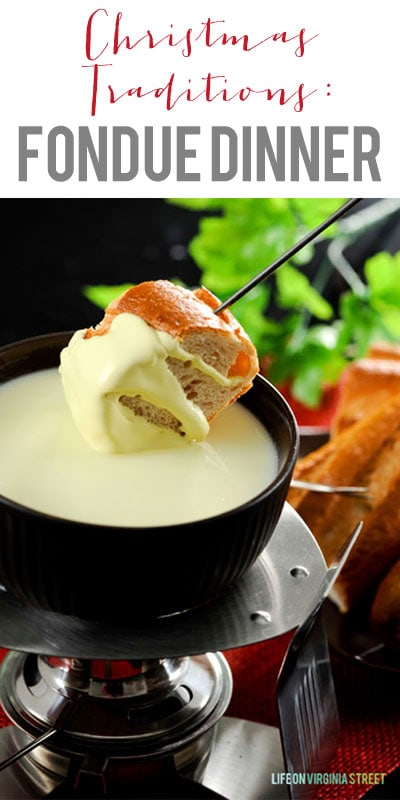 Fondue Dinner - Christmas Traditions