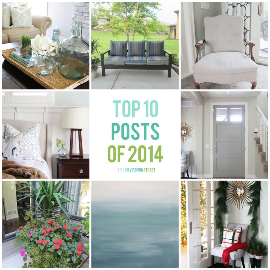 Top 10 Blogs Posts of 2014 - Life On Virginia Street