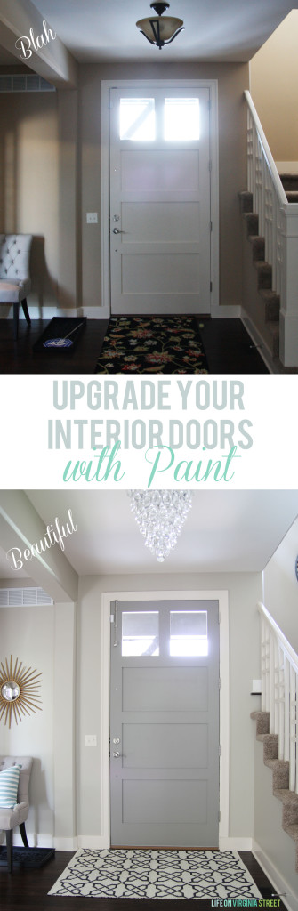 Upgrade Your Interior Doors with Paint