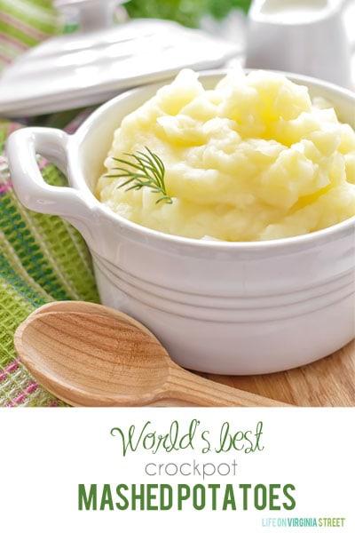 World's Best Crockpot Mashed Potatoes Recipe