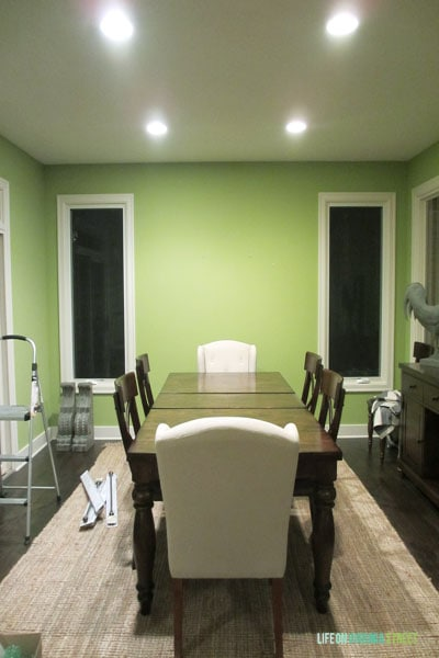 Dining Room After Move-In