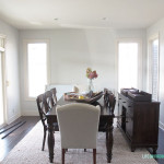 Dining Room paint job - we got a new color and I love it!