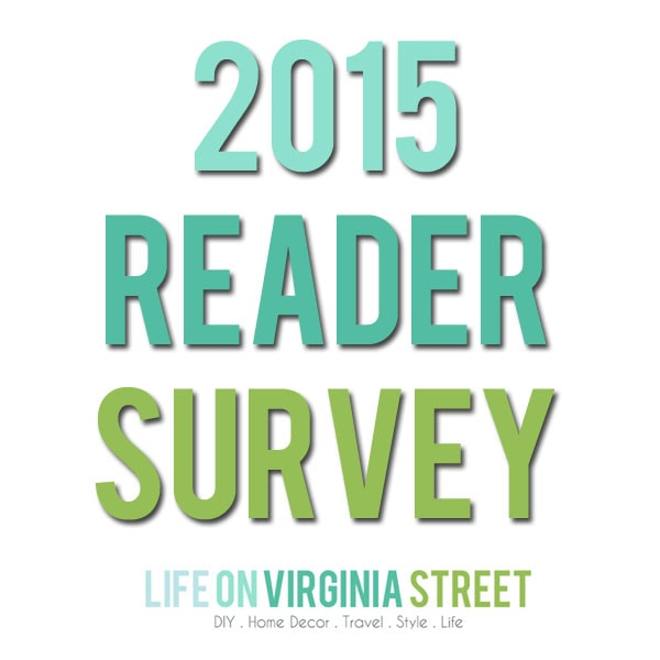 Reader Survey and A Giveaway