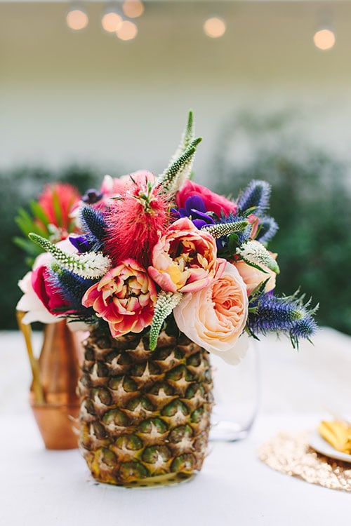 {Fresh Pineapple Vase}