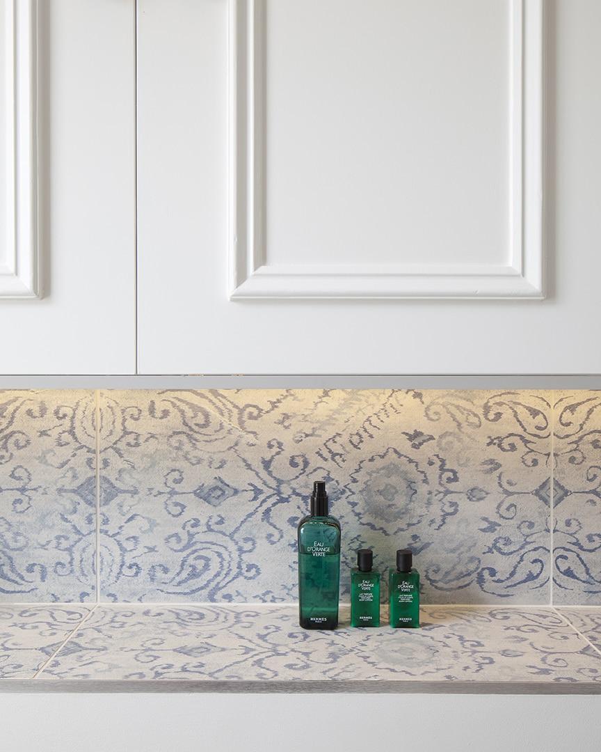Blue And White Concrete Tile Ideas Insperation Life On Virginia Street
