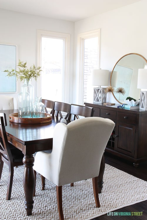 Dining Room - Spring Home Tour - Life On Virginia Street