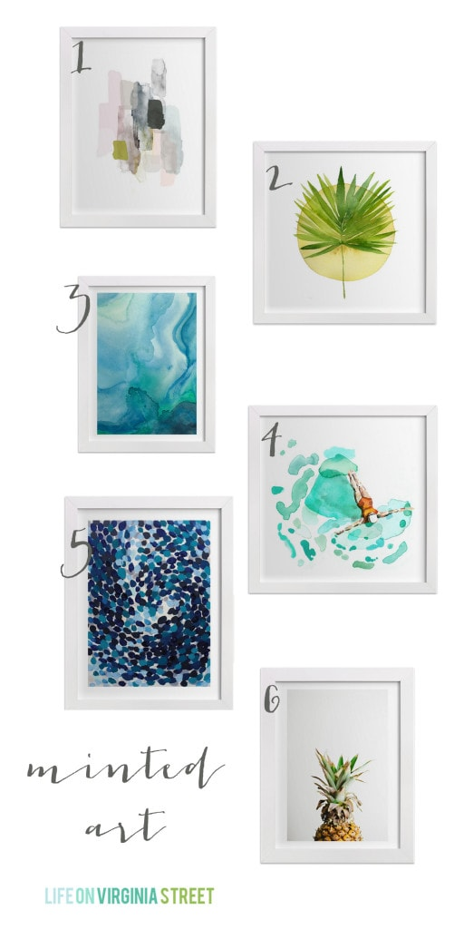Minted home decor life on virginia street for Good home decor instagram