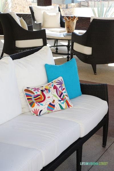 Otomi Pillow at The Resort at Pedregal