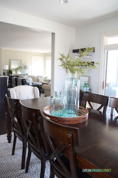Spring Home Tour - Dining Room - Life On Virginia Street