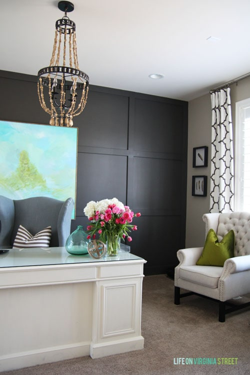 Spring Home Tour - Office - Life On Virginia Street