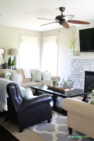 summer home tour living room 3