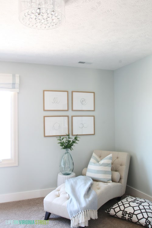Craft room makeover for Craft room paint colors