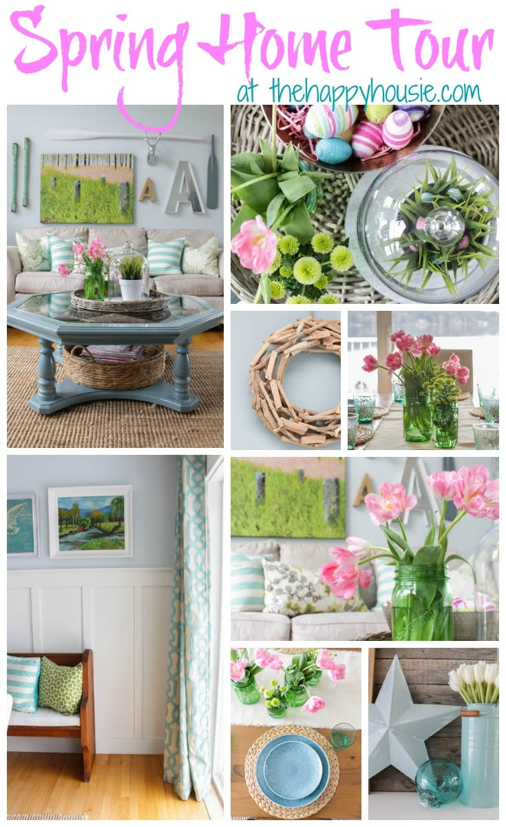 Pretty preppy party april features life on virginia street for Spring home decorations