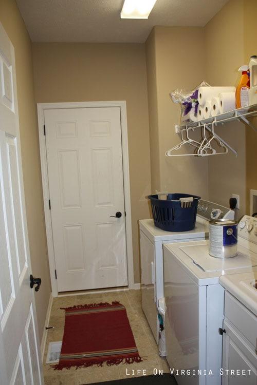 Laundry Room Before - Life On Virginia Street