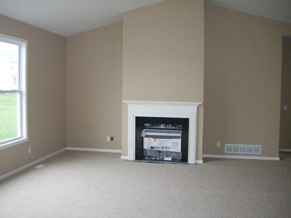 Living Room Before - Life On Virginia Street