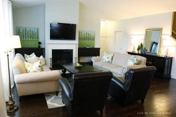 Living Room - Life On Virginia Street