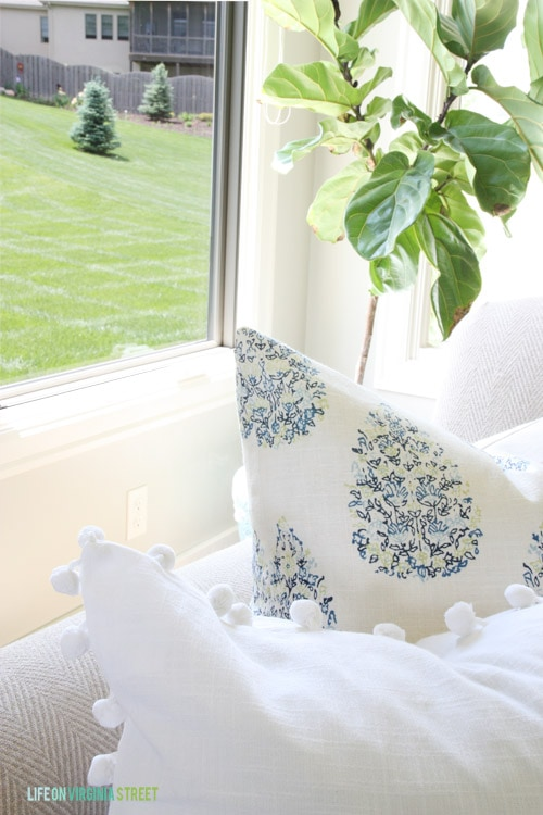 Sewing Summer Throw Pillows