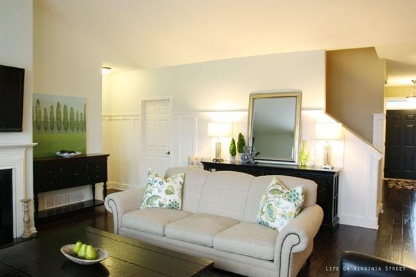 Living Room side - Life On Virginia Street
