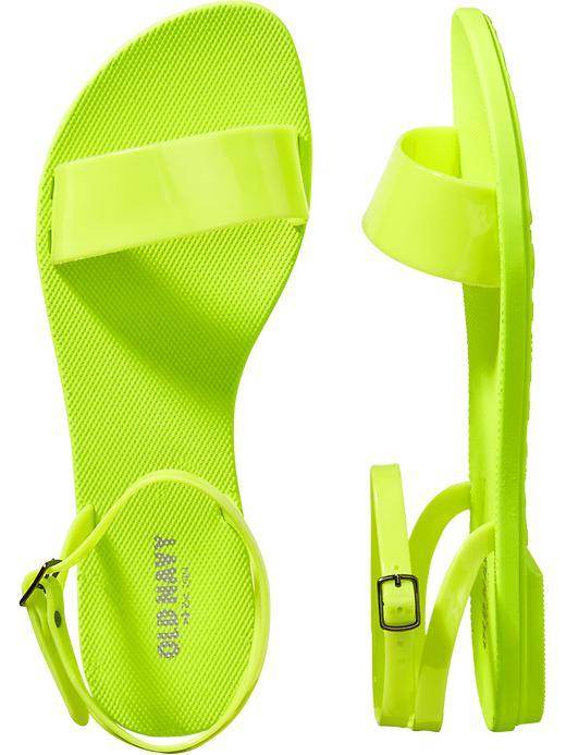 {Neon Sandals}