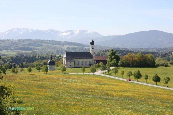 A stunning landscape in Austria.