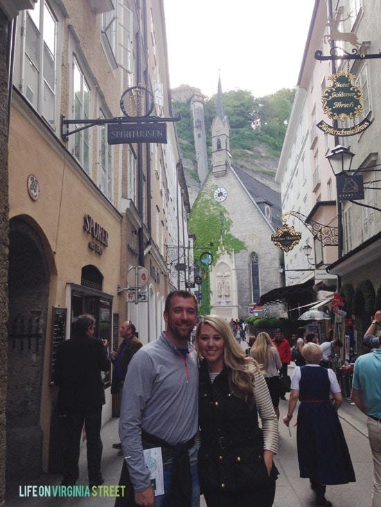 Some views during our Salzburg street walking tour.