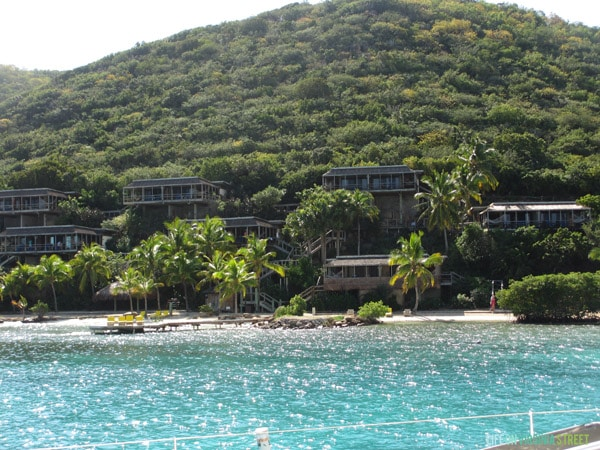 BVI - Bitter End Yacht Club from the sea - Life On Virginia Street