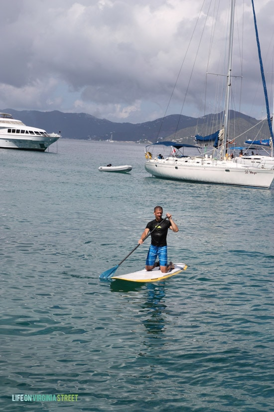 BVI - Kurtis Paddleboarding - Life On Virginia Street