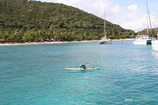 BVI - Paddleboarding - Life On Virginia Street