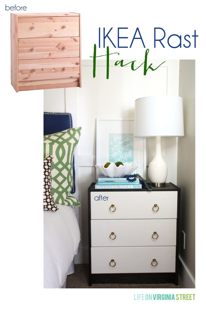 IKEA Rast Hack Before and After - Life On Virginia Street