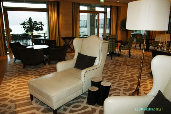 Ireland - The Europe Hotel Lounge - Life On Virginia Street