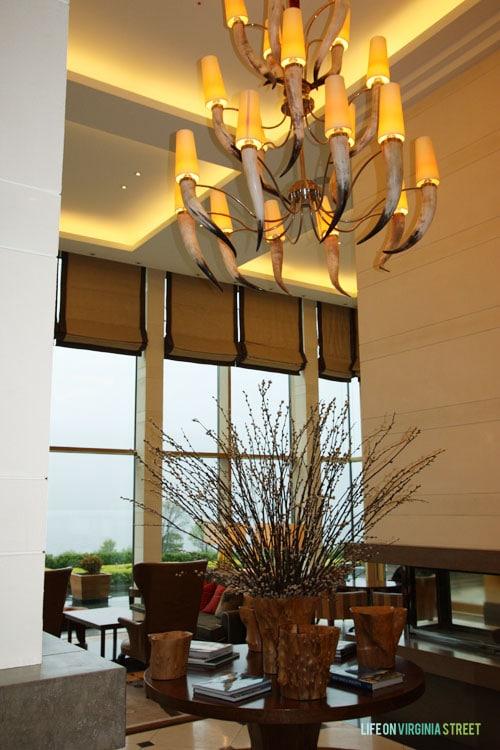 Ireland - The Europe Hotel lobby - Life On Virginia Street