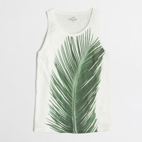 Ivory Palm Tank
