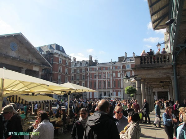 London - Covent Garden - Life On Virginia Street