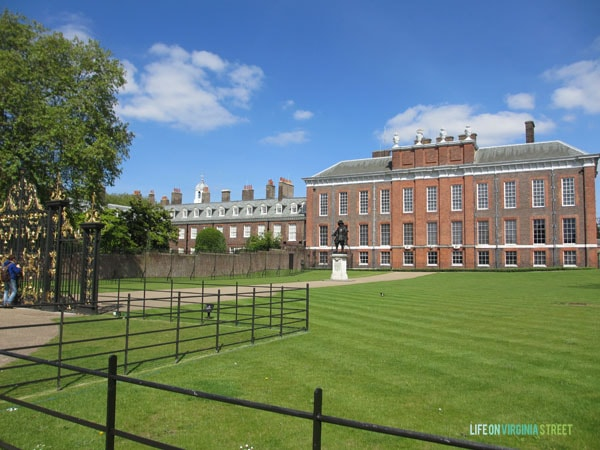 London - Kensington Palace - Life On Virginia Street