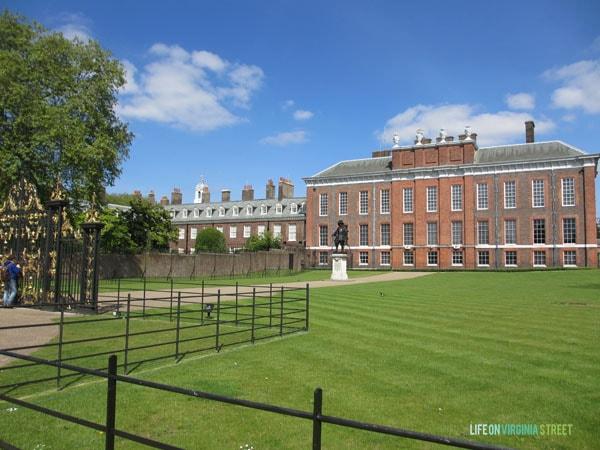 London - Kensington Palace - Life On Virginia Street