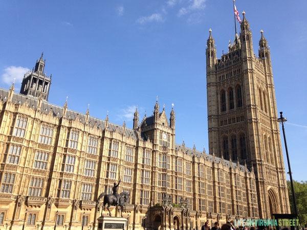 London - Parliament - Life On Virginia Street