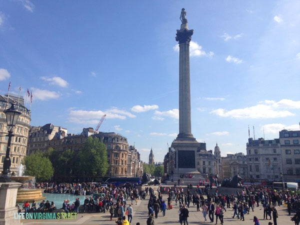 London - Trafalgar Square - Life On Virginia Street