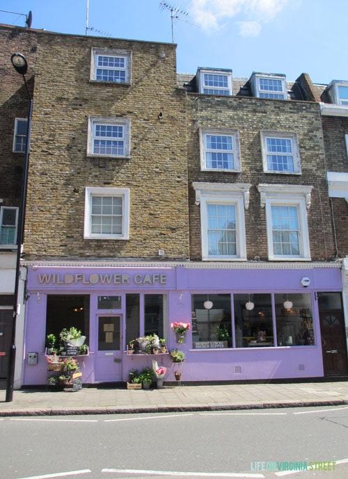 London - Wildflower Cafe - Life On Virginia Street