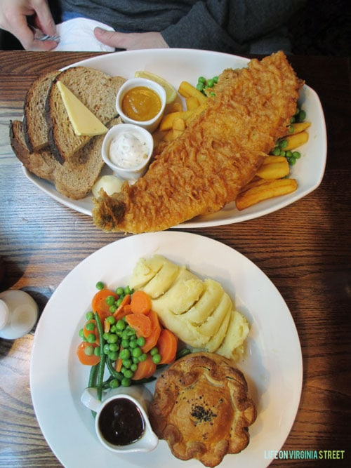 London favorite meal - Life On Virginia Street