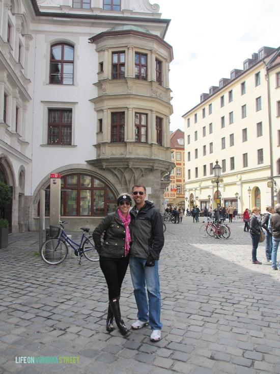 Stunning street views were all around Munich.