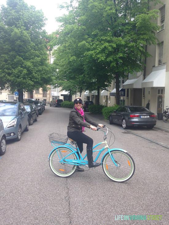 Enjoying Munich from Mike's Bike Tour!