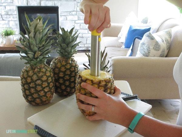 Pineapple Vase - Step 2 - Life On Virginia Street
