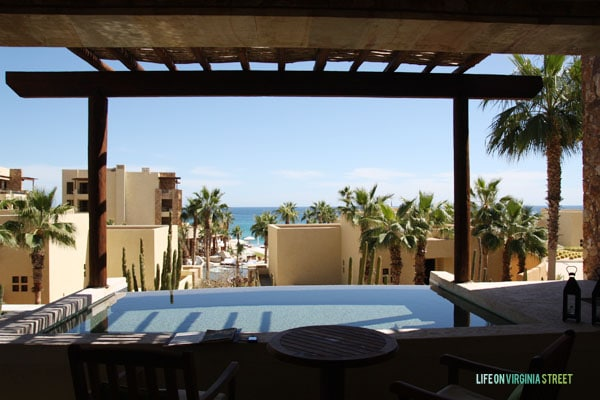 Resort at Pedregal balcony - Life on Virginia Street