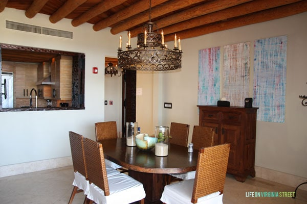 Resort at Pedregal dining room - Life on Virginia Street