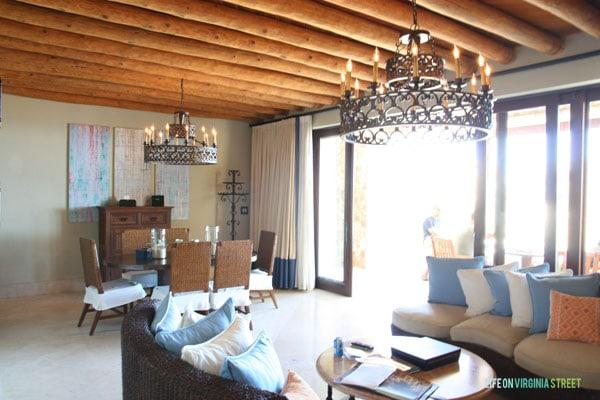 Resort at Pedregal living room - Life On Virginia Street
