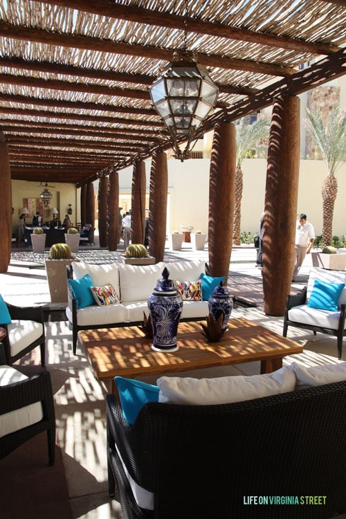 Resort at Pedregal lobby - Life On Virginia Street