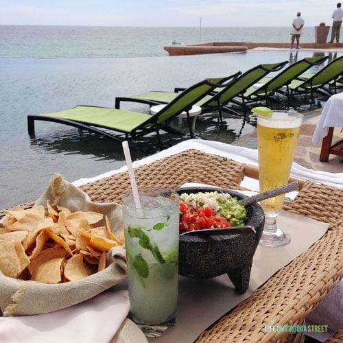 Resort at Pedregal lunch - Life On Virginia Street