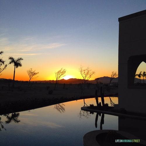 Secrets Puerto Los Cabos sunset - Life On Virginia Street