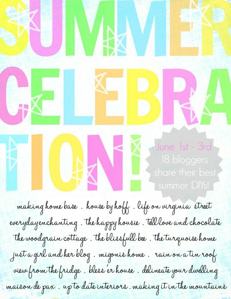 Summer Celebration Graphic.